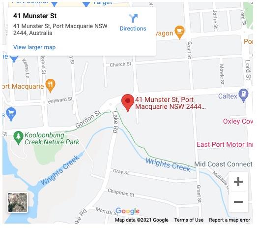 Munster Street Map
