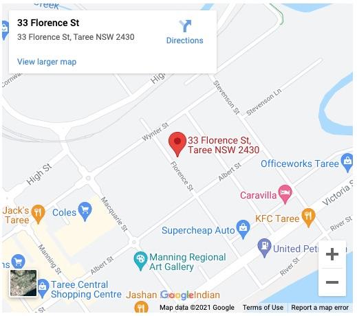Taree Map